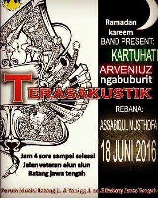 [Event] Batang | 18 Juni 2016 | Forum Musisi Batang | Ngabuburit Terasakustik