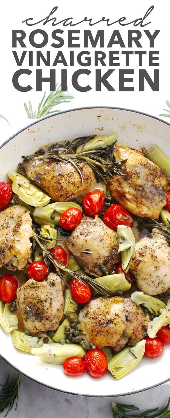 Charred Rosemary Vinaigrette Chicken