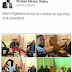 Lol. More Nigerians visit Pres Buhari in London