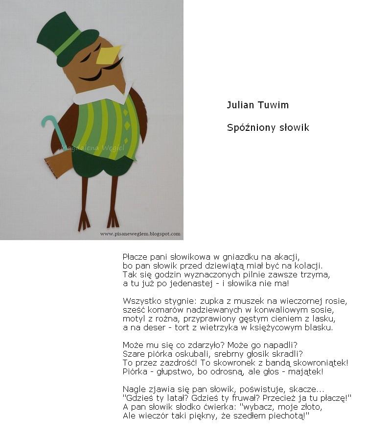 Pisane Węglem Czyli Magdalena Węgiel Dla Dzieci Kwietnia 2016