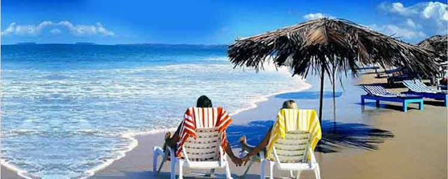 Goa beach is one of the most popular honeymoon destination in India.