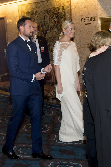 Norwegian Royals Attended The 2015 Nobel Peace Prize Banquet