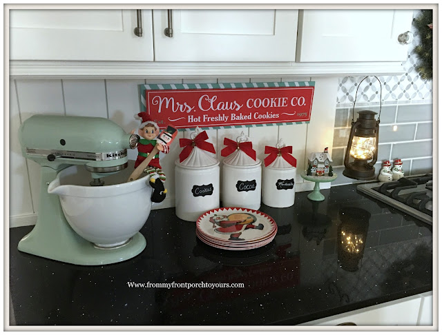 Farmhouse Christmas Kitchen-Vintage-From My Front Porch To Yours