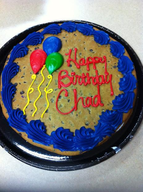 Happy Birthday Chad Cake Hackberry Life August 2012