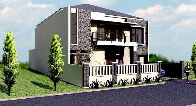 Desain Rumah Minimalis Type 80 2 lantai
