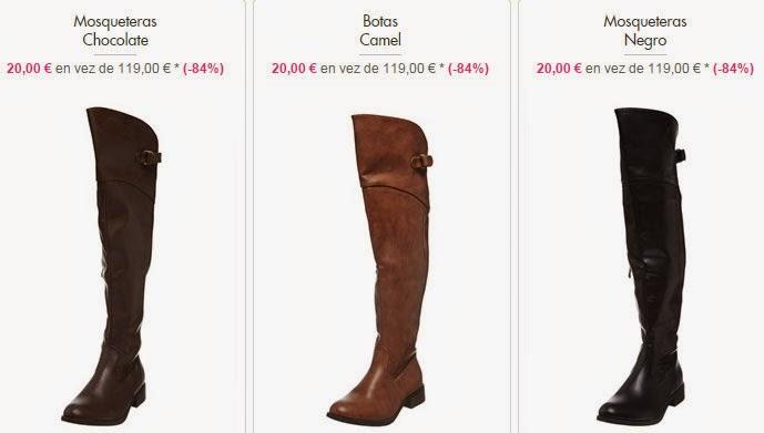 Botas altas 20 euros