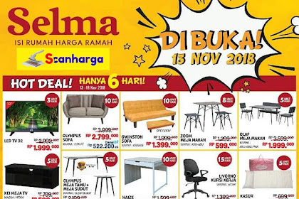 Katalog Promo SELMA Furniture Terbaru Januari 2019