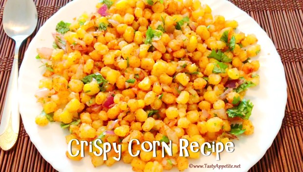 easy crispy corn recipe
