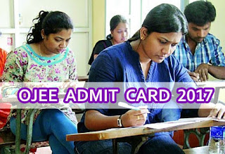 OJEE Admit Card, Odisha JEE Admit Card 2017, Odisha JEE Hall Ticket 2017