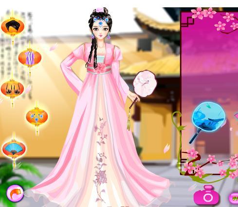 Juegos De Vestir A La Moda Tradicional De China Vestir