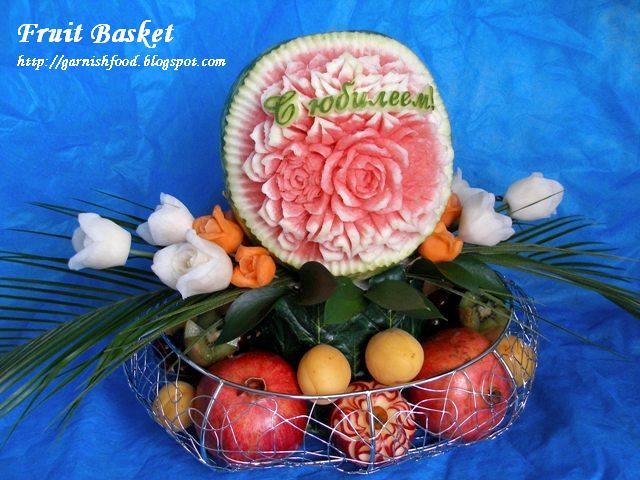 birthday fruit basket