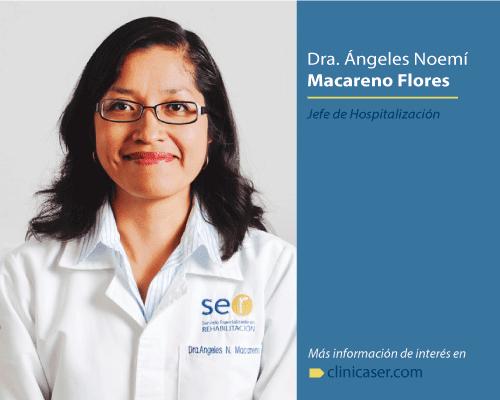 Dra. Ángeles Noemí Macareno Flores