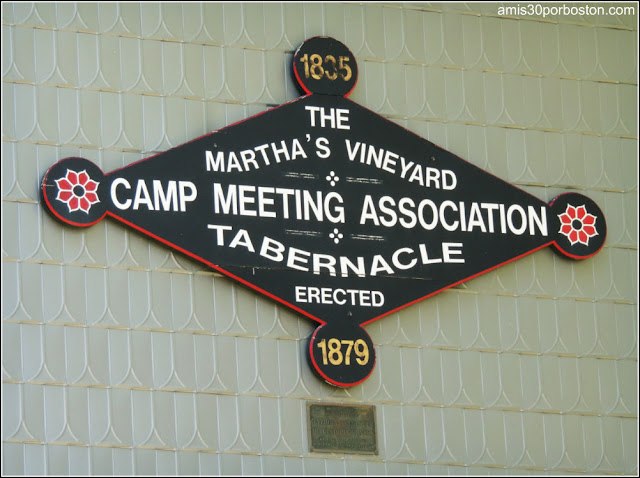 Martha's Vineyard Camp Meeting Tabernacle