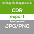 Tutorial Export File CorelDraw X7 ke JPG dan PNG