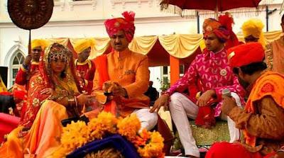 customary indian wedding