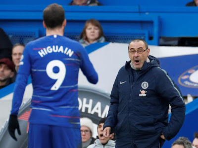 TRUE BLUE Higuain says he joined 'wonderful' Chelsea so Sarri can get him back to his best ahead of Man City trip