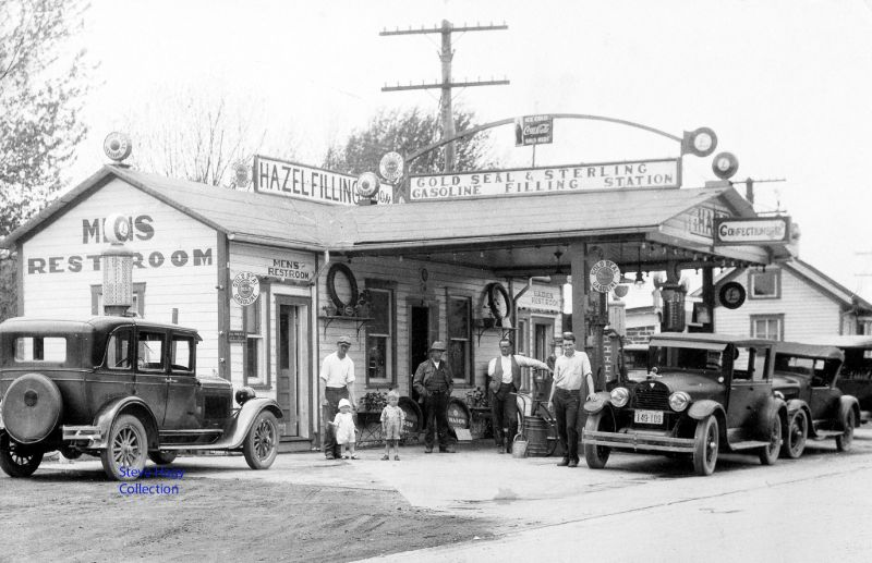 Garages anciens - Page 2 1920s-and-1930s-american-service-stations%2B%25284%2529