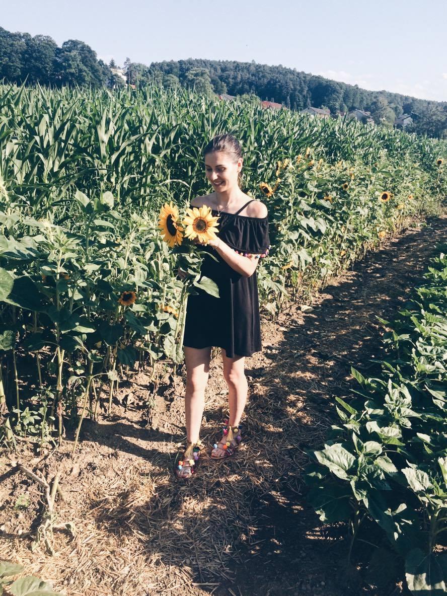 Austriacka przydrożna i samoobsługowa kwiaciarnia