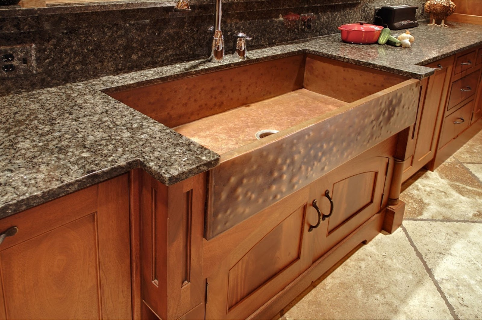 30 New Kitchen Sink Designs For Granite Countertops ... on Farmhouse Granite Countertops  id=51683