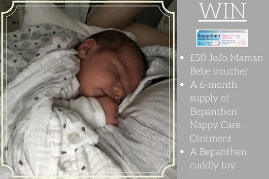 Nappy Rash? Win a 6-month supply of Bepanthen and a £50 JoJo Maman Bebe voucher