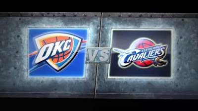 NBA - Cavaliers vs OKC Thunder