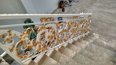 railing besi tempa terbaru