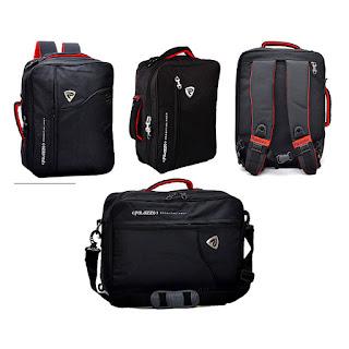 Spesifikasi dan Harga Palazzo Tas Ransel Backpack 3in1