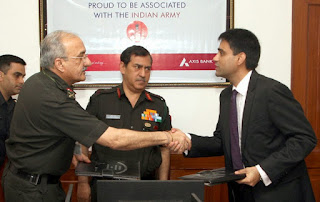 Spotlight: MoU Between Indian Army and Axis Bank