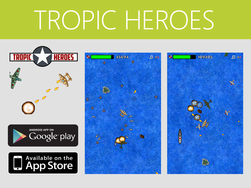 Tropic Heroes: A Taste of Retro in Indie Games!