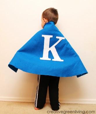 How to make a no-sew super hero cape