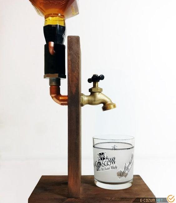 Tesisat parçalarından içecek servisi