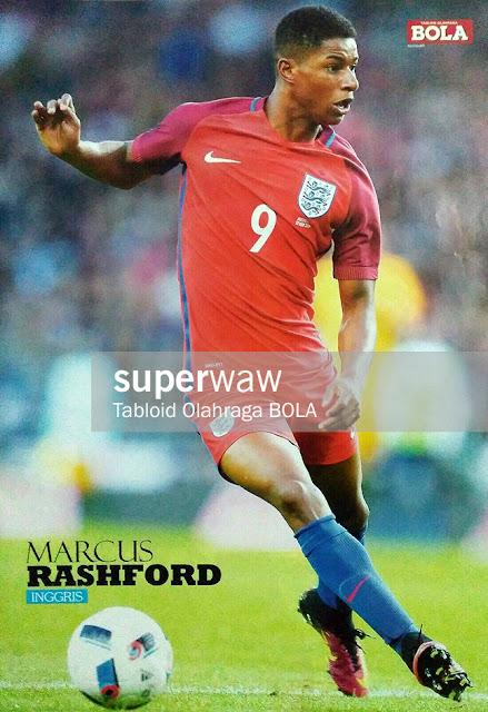 Marcus Rashford England