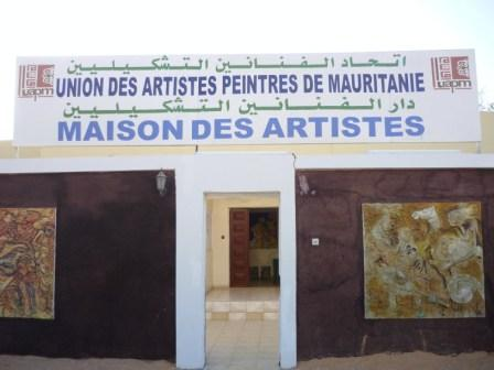 la maison des artistes de nouakchott. Black Bedroom Furniture Sets. Home Design Ideas