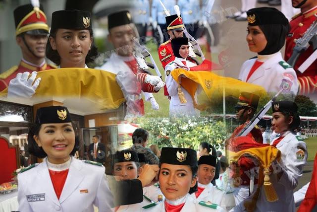 Daftar Wanita Cantik Pembawa Baki Bendera Pusaka Indonesia Dari Tahun Ke Tahun