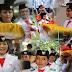 10 Daftar Wanita Cantik Pembawa Baki Bendera Pusaka Indonesia