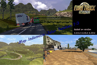 Map Jalur Selatan 1.3 add on ets2