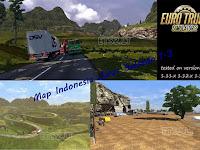 Map Jalur Selatan 1.3 add on Euro Truck Simulator 2
