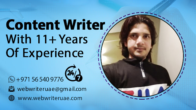 Web Writer UAE