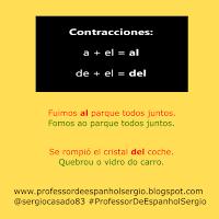 contraçoes em espanhol, artigos em espanhol, artículos en espanol, dicas de espanhol, gramática espanhol, curso de espanhol, espanhol, aprender espanhol