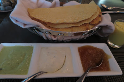 Punjab Grill, papadums