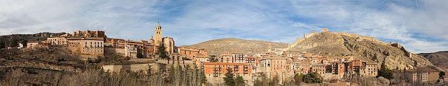Albarracín, Teruel, Aragón, panorámica