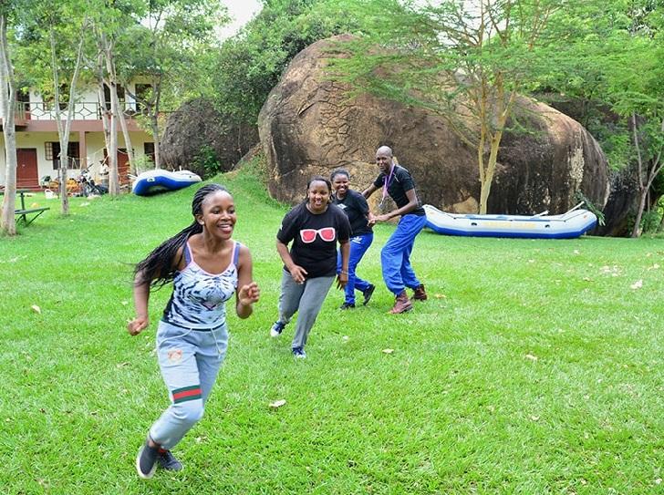 Having Fun Sagana Kenya