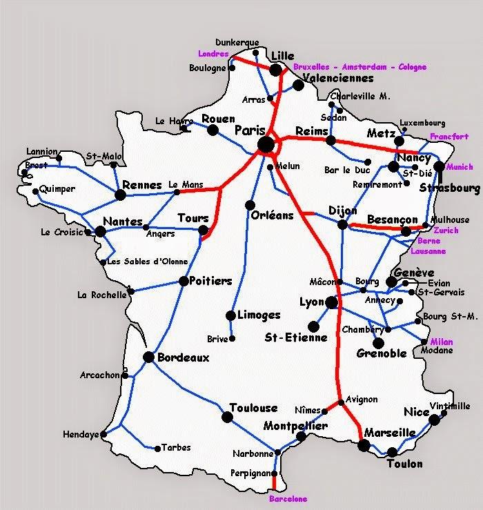 ver mapa do sul de frança Dicas Práticas de Francês para Brasileiros: Gares de Paris, RER  ver mapa do sul de frança