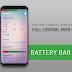 Battery Bar : Energy Bars on Status bar NUEVA