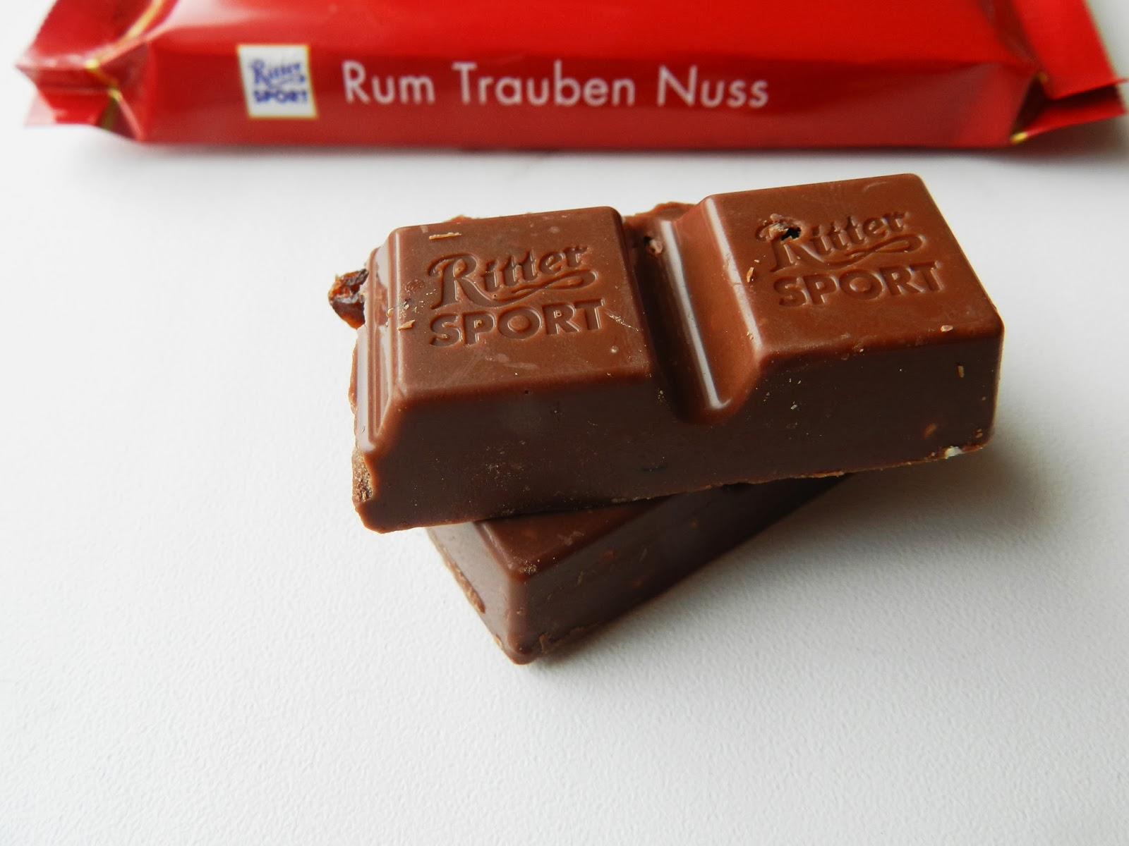 Ritter Sport Rum Traube Nuss