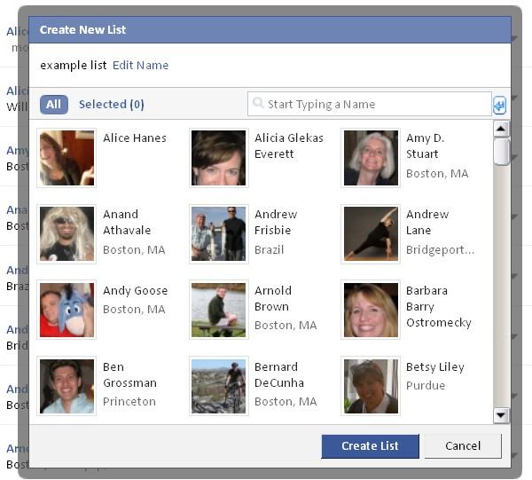 Arkadaş Listesi Gizleme ~ Facebook Okulu