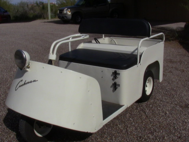 Million Dollar Steps: STEP FIFTEEN: Vintage 1956 Cushman