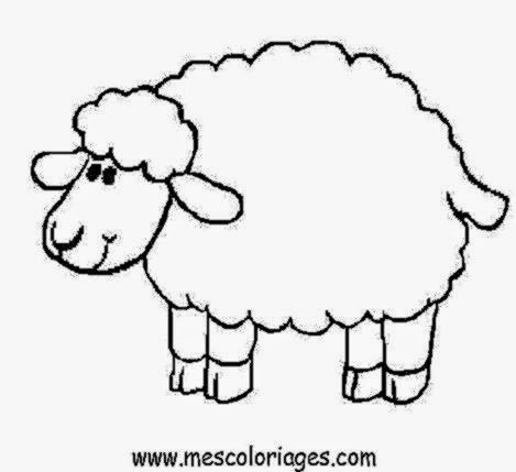 Pesach Coloring Pages Passover Lamb Colouring Pages Clip Art ... | 429x469