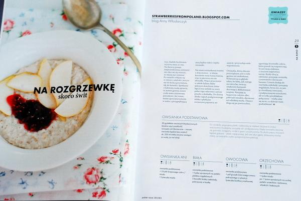 Wnętrze magazynu, przepisy blogerek na śniadania