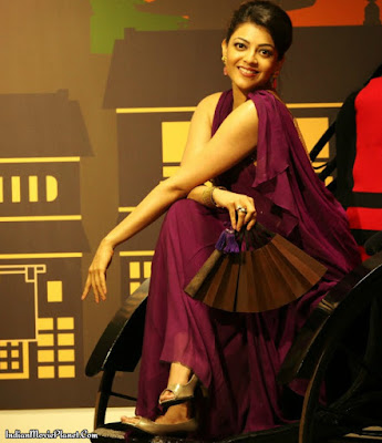 kajal agarwal beautiful stills meroon kurta